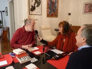 Intervista radiofonica a casa di David Vyssoki