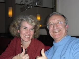 Nuccio e Frederike la traduttrice